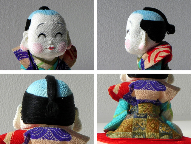 手作り福助人形